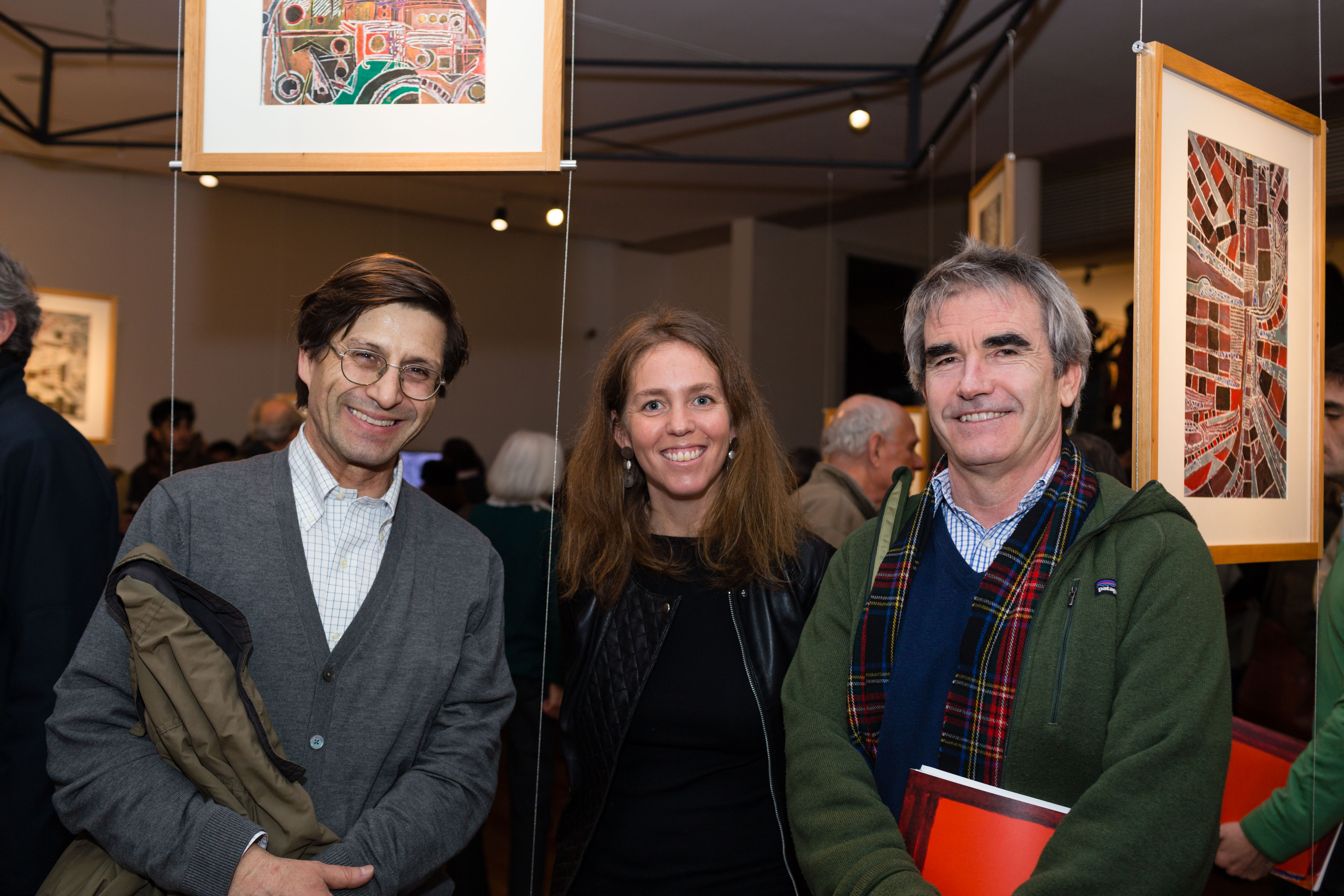 MAVI Expo Cruz - Agustín Cruz, Virginia Amenabar, Juan Rafael Arnaíz.